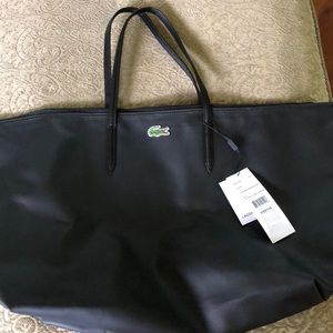 b6319acfb93a Lacoste extra large overnight bag NWT